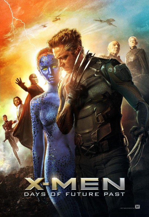 X Men Days of Future Past Cast poster 570x829 X Men: Days of Future Past Reveals Nine Very Dramatic New Posters