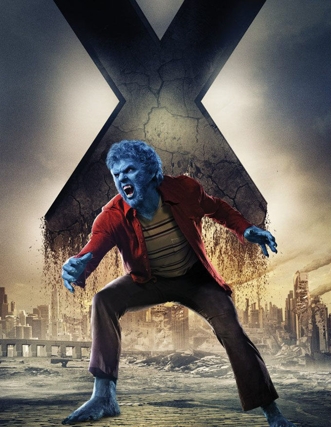 X Men Days of Future Past Character Poster Beast X Men: Days of Future Past Box Office Forecast and Character Art
