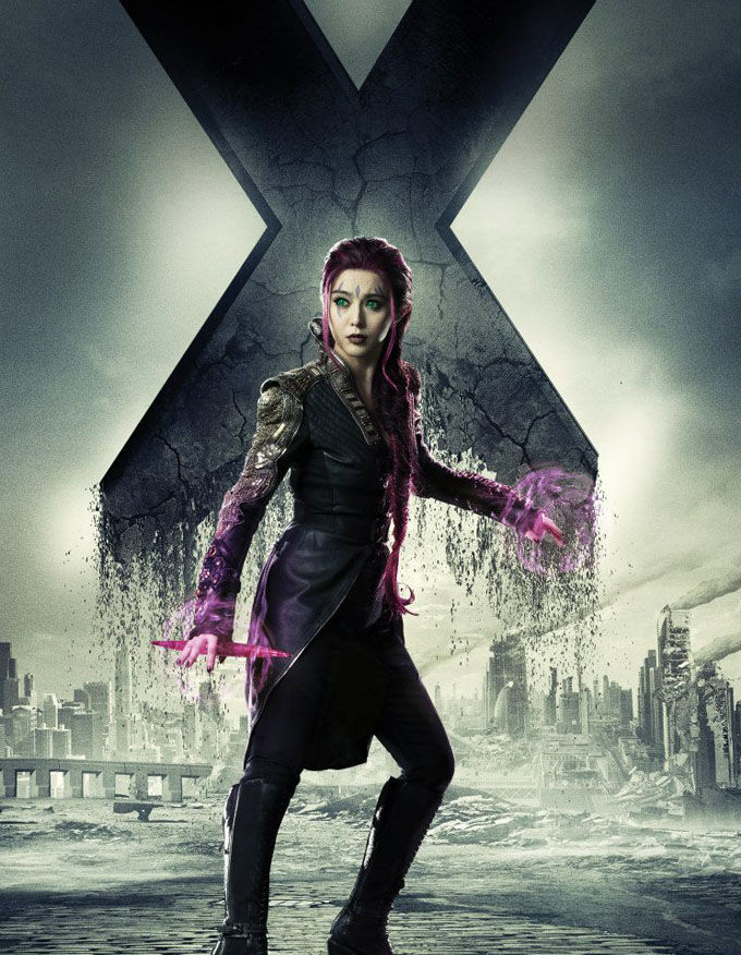 X Men Days of Future Past Character Poster Blink X Men: Days of Future Past Box Office Forecast and Character Art