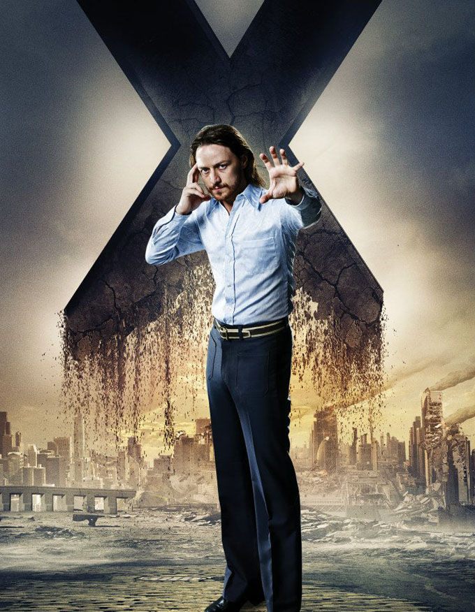 X Men Days of Future Past Character Poster Charles Xavier X Men: Days of Future Past Box Office Forecast and Character Art