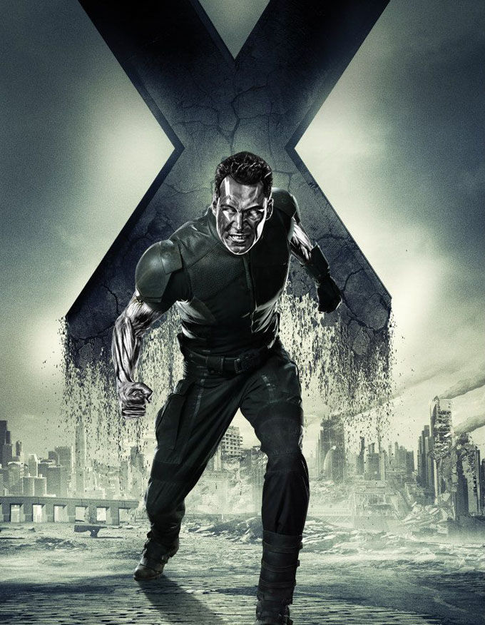 X Men Days of Future Past Character Poster Colossus X Men: Days of Future Past Box Office Forecast and Character Art