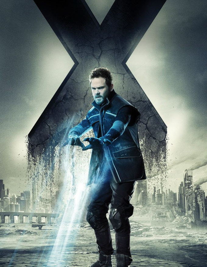 X Men Days of Future Past Character Poster Iceman X Men: Days of Future Past Box Office Forecast and Character Art