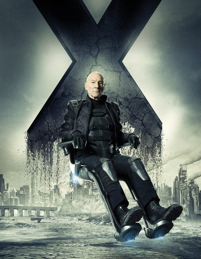 X Men Days of Future Past Character Poster Professor X X Men: Days of Future Past Box Office Forecast and Character Art