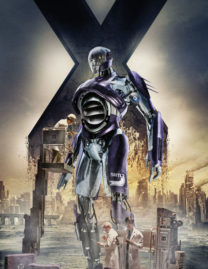 X Men Days of Future Past Character Poster Sentinel Mark I X Men: Days of Future Past Box Office Forecast and Character Art