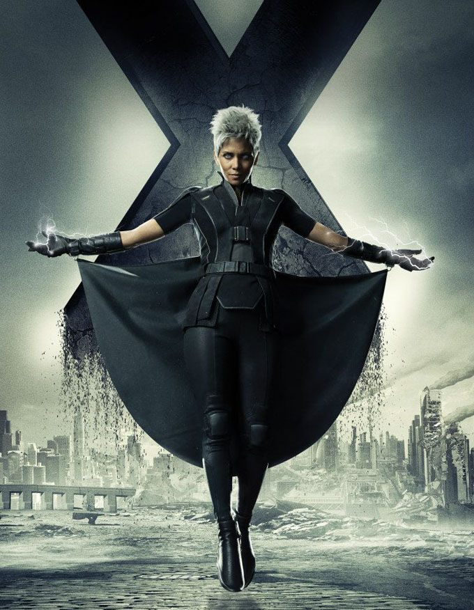 X Men Days of Future Past Character Poster Storm X Men: Days of Future Past Box Office Forecast and Character Art