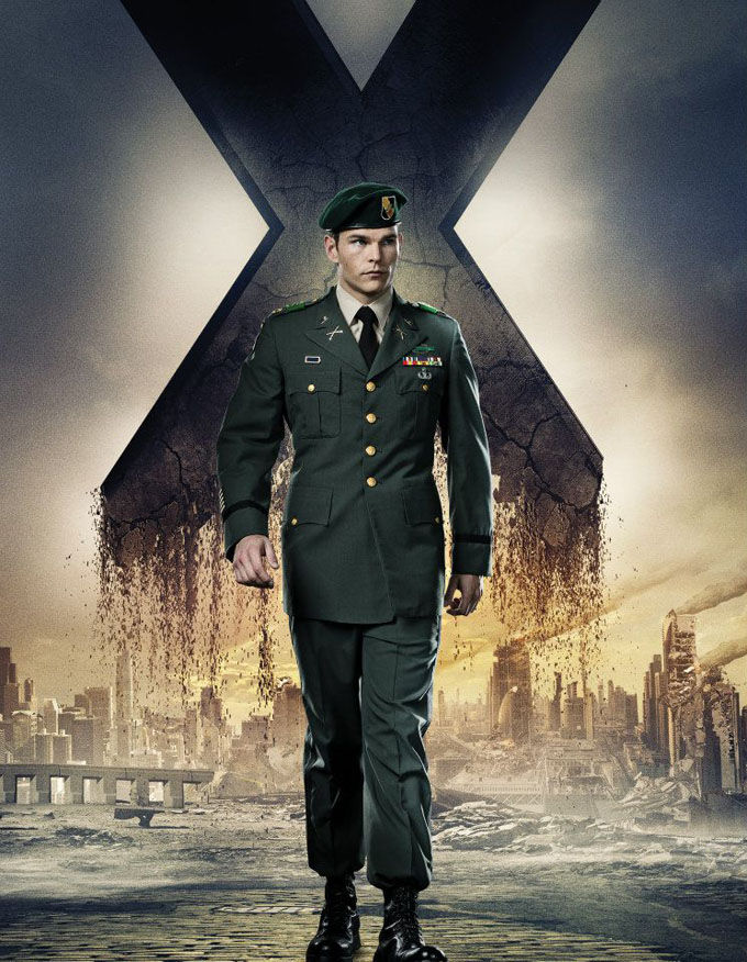 X Men Days of Future Past Character Poster Stryker X Men: Days of Future Past Box Office Forecast and Character Art
