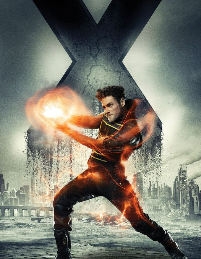 X Men Days of Future Past Character Poster Sunspot X Men: Days of Future Past Box Office Forecast and Character Art