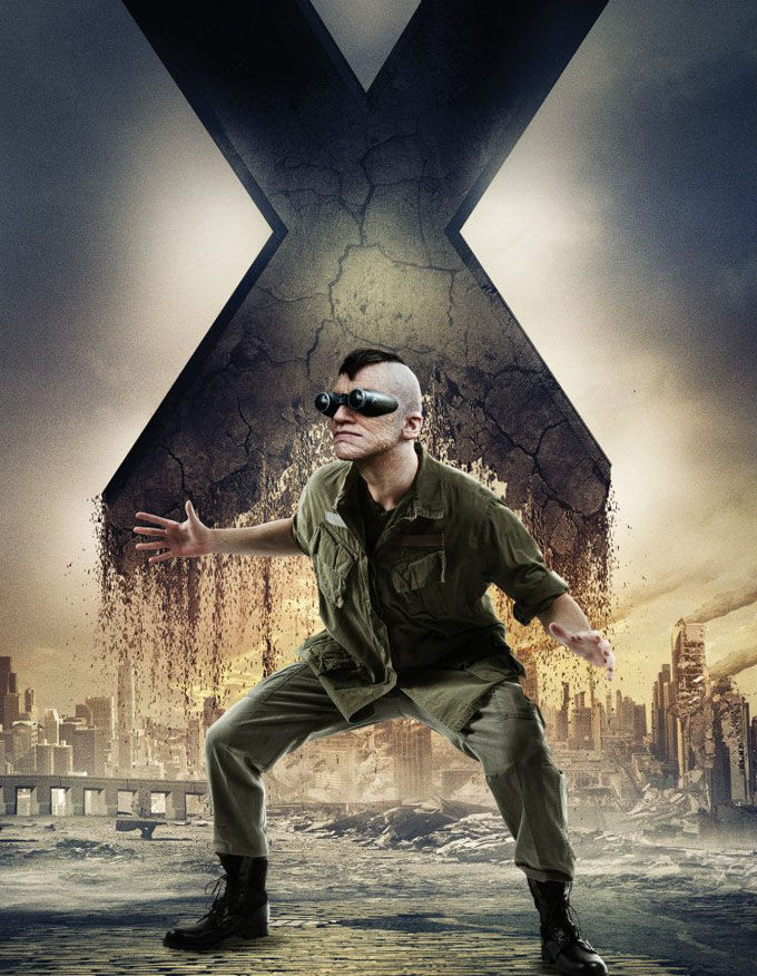 X Men Days of Future Past Character Poster Toad X Men: Days of Future Past Box Office Forecast and Character Art