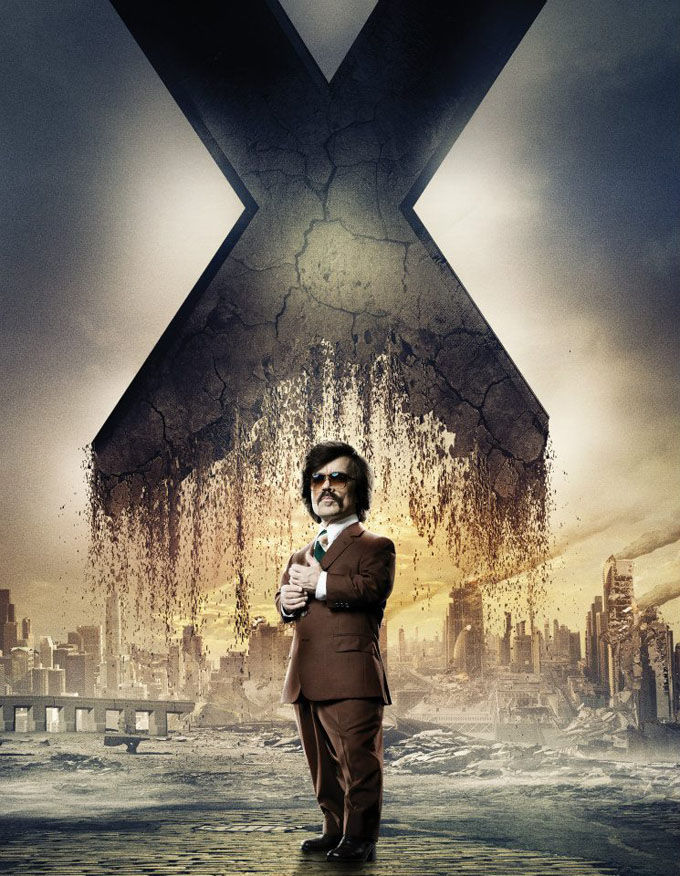 X Men Days of Future Past Character Poster Trask X Men: Days of Future Past Box Office Forecast and Character Art