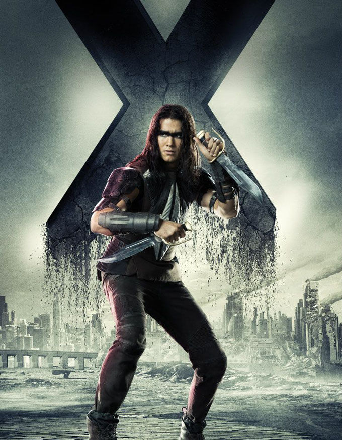 X Men Days of Future Past Character Poster Warpath X Men: Days of Future Past Box Office Forecast and Character Art
