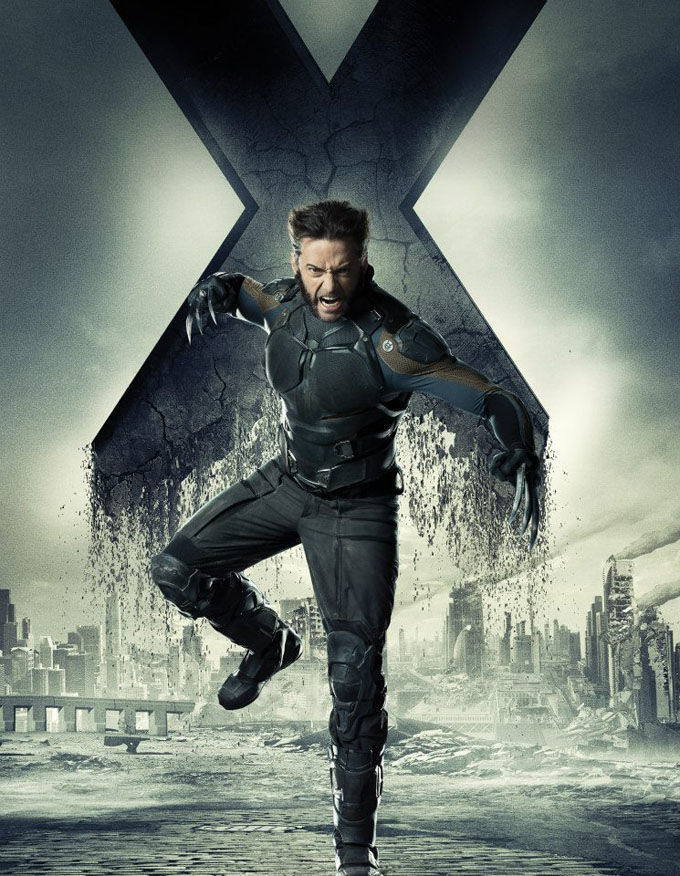 X Men Days of Future Past Character Poster Wolverine X Men: Days of Future Past Box Office Forecast and Character Art