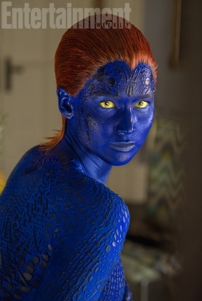 X Men Days of Future Past EW Photo Jennifer Lawrence Mystique X Men Days of Future Past EW Photo Jennifer Lawrence Mystique