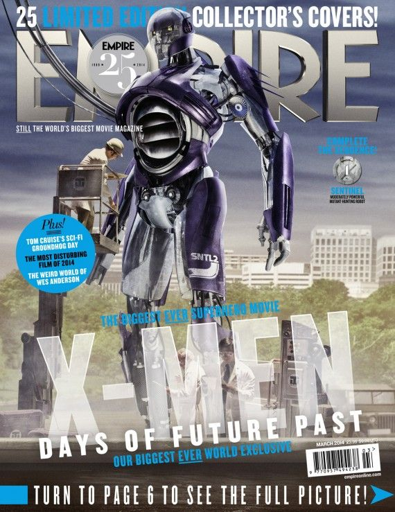 X Men Days of Future Past Empire Cover 1 Sentinel 570x739 X Men Days of Future Past Empire Cover 1 Sentinel