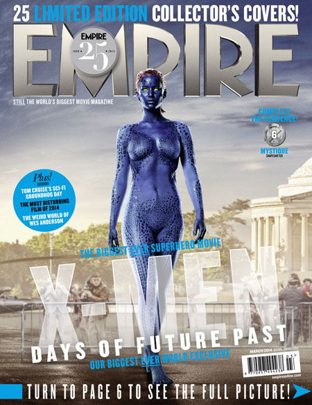 X-Men Days of Future Past Empire Cover 6 Mystique Thumbnail