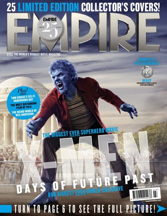 X Men Days of Future Past Empire Cover 7 Beast 570x739 X Men Days of Future Past Empire Cover 7 Beast