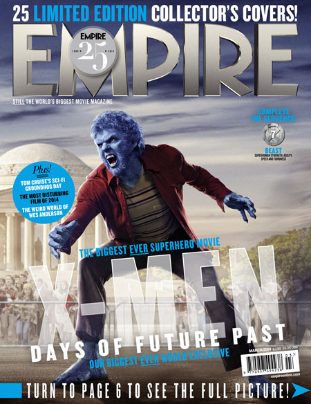 X-Men Days of Future Past Empire Cover 7 Beast Thumbnail