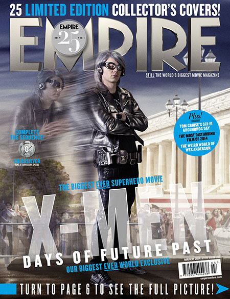 X-Men Days of Future Past Empire Cover 8 Quicksilver Thumbnail