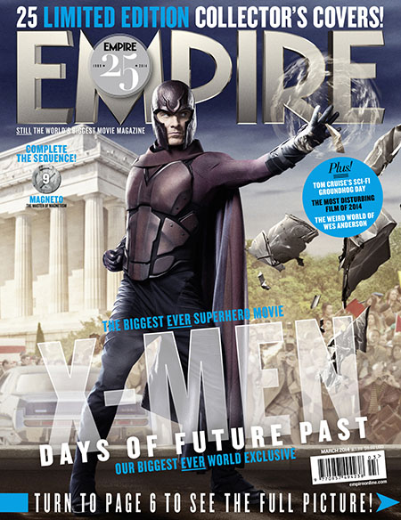X-Men Days of Future Past Empire Cover 9 Magneto Thumbnail