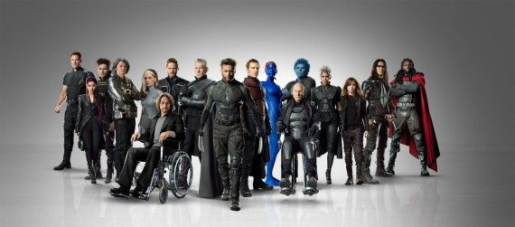 X Men Days of Future Past Full Cast Promo Photo 570x251 X Men: Days of Future Past Box Office Cant Beat X3 Domestically; Sets Worldwide Record