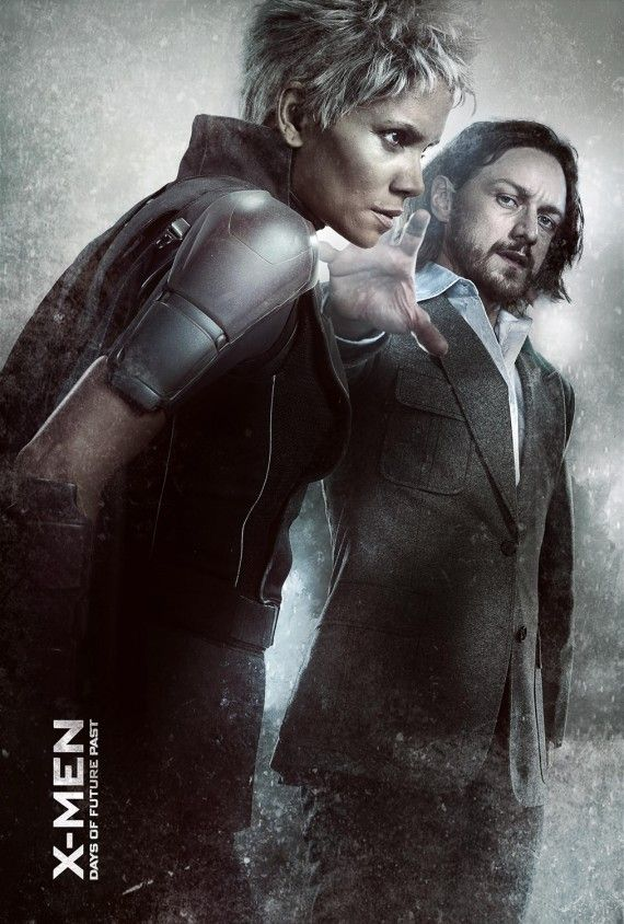 X Men Days of Future Past Storm and young Xavier 570x844 X Men: Days of Future Past Reveals Nine Very Dramatic New Posters