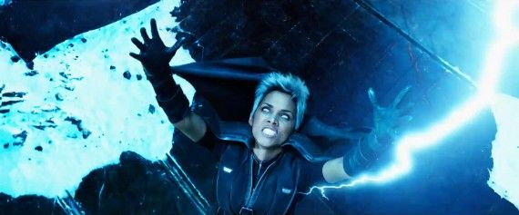 X Men Days of Future Past Trailer Storm Halle Berry Lightning 570x237 X Men Days of Future Past Trailer Storm   Halle Berry Lightning