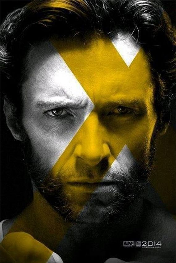 X Men Days of Future Past Wolverine Poster Hugh Jackman Talks X Men: Days of Future Past; Calls It Three Movies in One