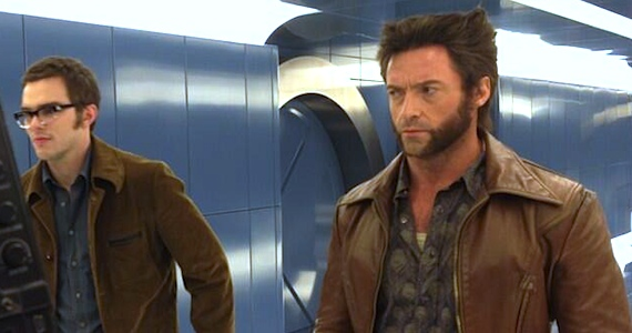 X-Men Days of Future Past Wolverine and Young Beast Image