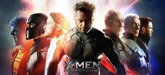 X Men Days of Future Past banner 570x259 X Men: Days of Future Past Reveals Nine Very Dramatic New Posters