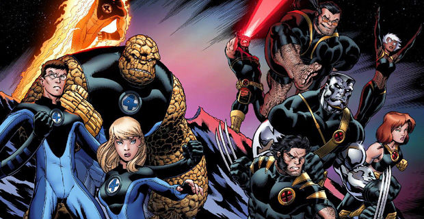 X-Men Fantastic Four Universes