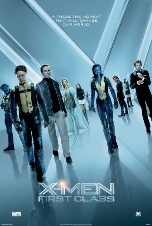 X Men First Class Costumes Cast Poster X Men First Class Costumes Cast Poster