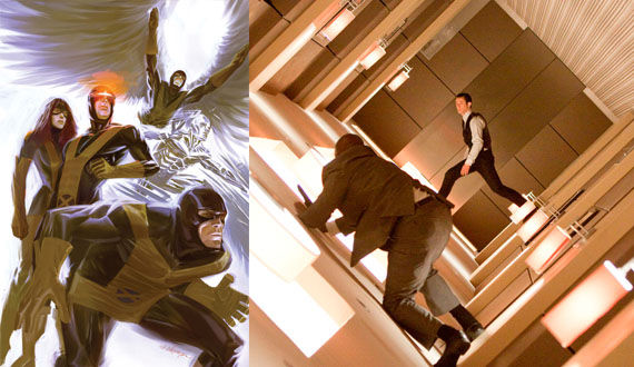 X Men First Class Inception  Inception Forces X Men: First Class Rewrite