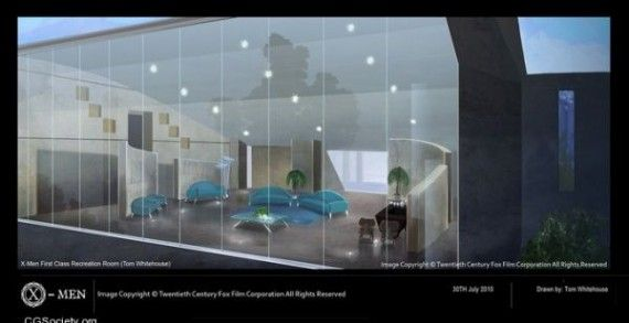 X Men First Class MIB Rec Room Concept Art 570x293 X Men First Class MIB Rec Room Concept Art