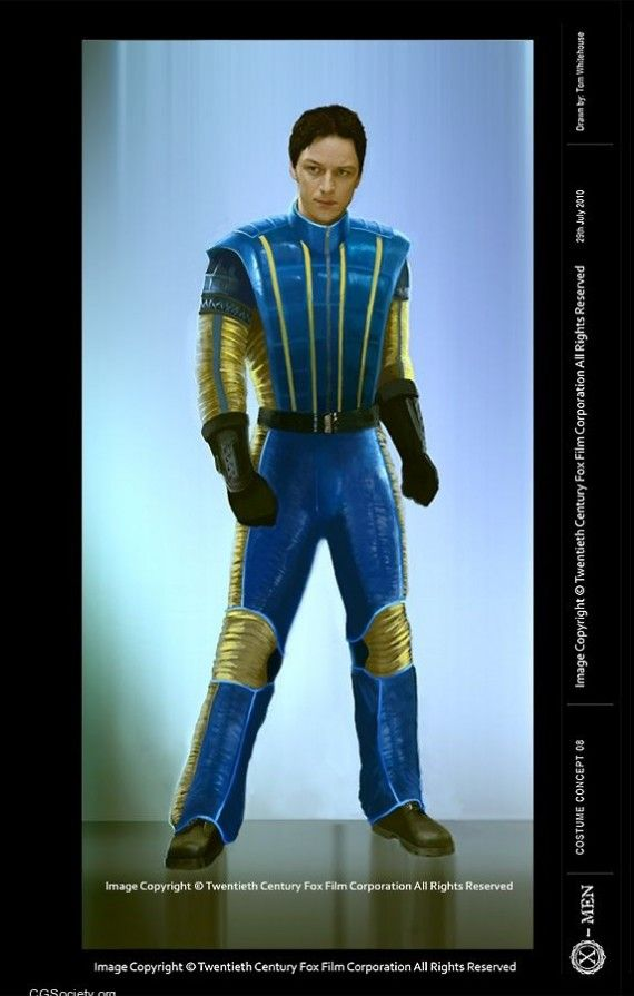 X Men First Class Professor X Costume Concept 570x895 X Men First Class Professor X Costume Concept