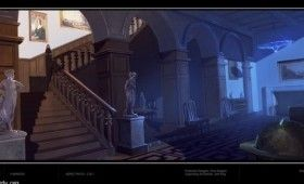 X Men First Class X Mansion Interior Concept Art 280x170 X Men: New Wolverine Photo, First Class Concept Art & Famke Janssens Hopeful Return