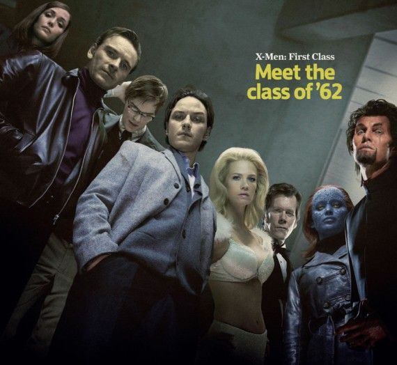 X Men First Class of 1962 570x524 X Men First Class of 1962