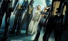 X Men French Poster 280x170 X Men: First Class Hellfire Club Banner, Poster & DVD Set