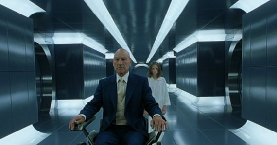 X2 X Men United Hallway Image X Men: Days of Future Past Production Image; Bryan Singer Teases Comic Con Reveal