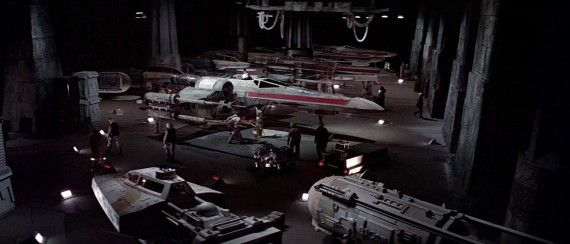 Yavin 4 Rebel Base Hangar 570x244 Yavin 4 Rebel Base Hangar