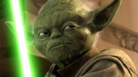 Yoda on Star Wars Disney