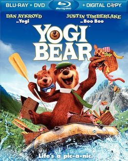 Yogi Bear DVD Blu ray box art DVD/Blu ray Breakdown: March 22nd, 2011