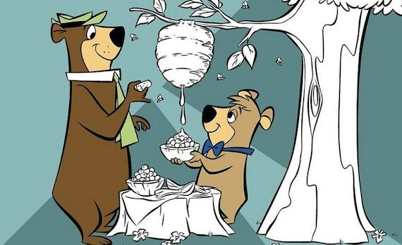 Yogi Bear and Boo Boo Cartoon