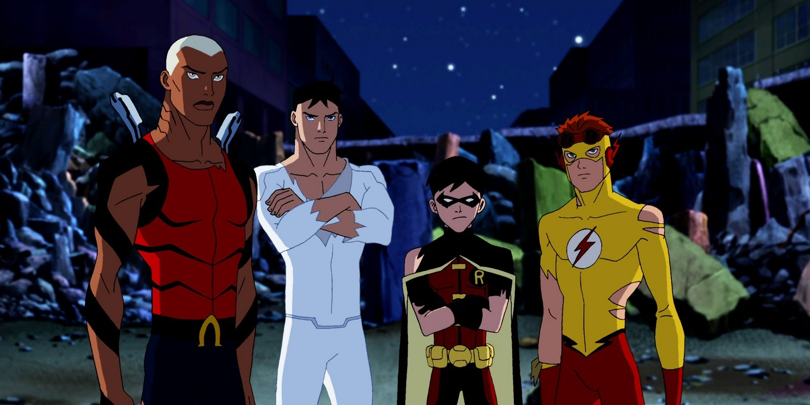 Young Justice Netflix