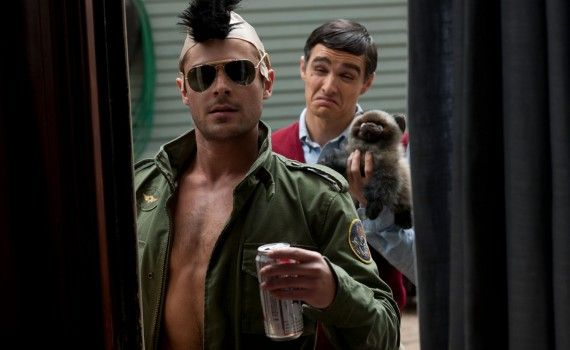 Zac Efron and Dave Franco in Neighbors 2014 570x350 Neighbors Trailer #2 & Image Gallery: Family vs. Frat