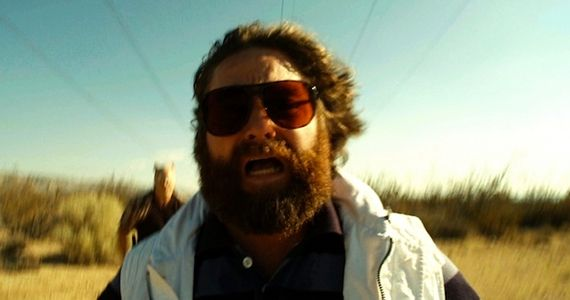 Zach Galifianakis in The Hangover 3 FX Orders Two Comedy Pilots from Zack Galifianakis & Charlie Kaufman