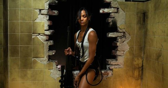 Zoe Saldana Colombiana Review Colombiana Review