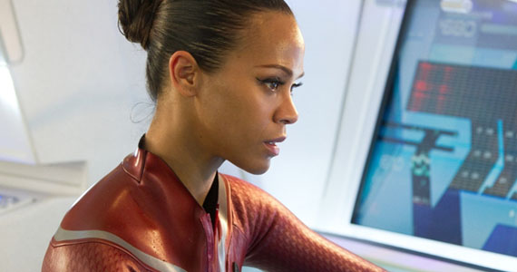 Zoe Saldana Star Trek 2 Wetsuit Zoe Saldana May Play Gamora in Guardians of the Galaxy