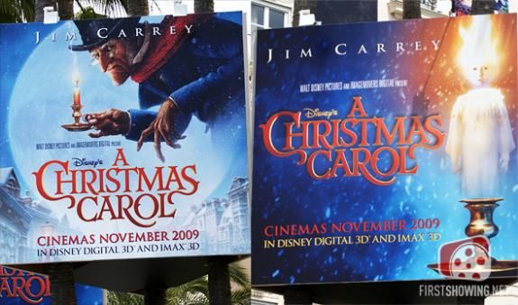 a christmas carol cannes poster New Movie Posters Premiere At Cannes