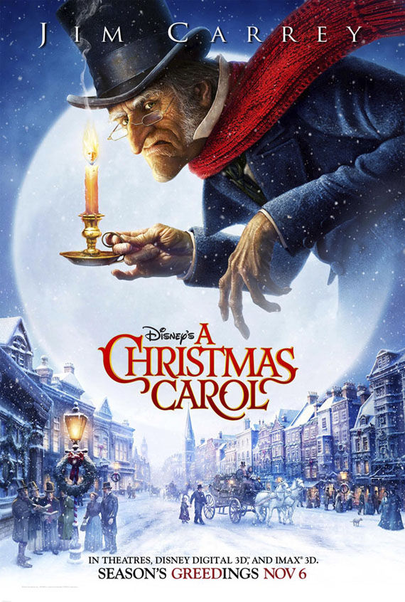 a christmas carol jim carrey New Posters: Inglourious Basterds, Public Enemies, Transformers 2 & More!
