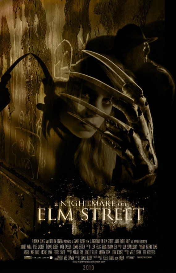a nightmare on elm street poster jackie earle haley New Posters: The Road, 2012, Where The Wild Things Are & More!