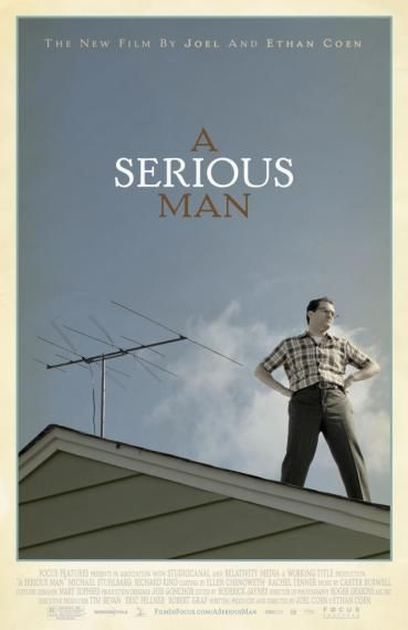 a serious man poster New Posters: Saw VI, Extract, Gamer & Lots More